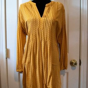Old Navy - Yellow Peasant Dress